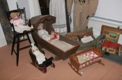 Dolls in the Early Life room